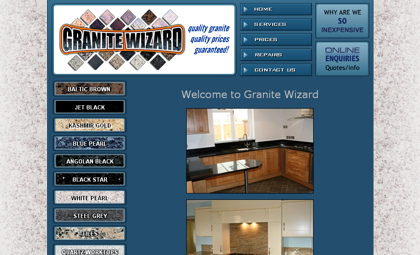 Granite wizard